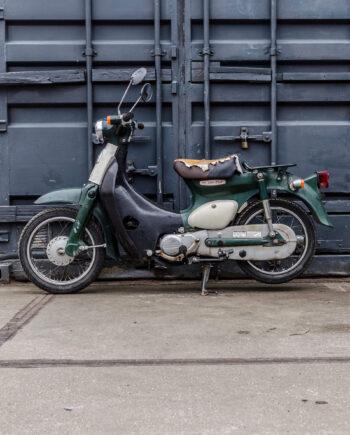 Honda Little Cub green