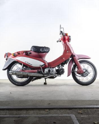 Honda C50 Cubra cub rood