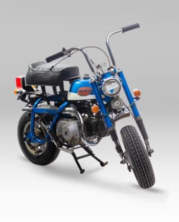 Honda Monkey Z50z blauw C14_010