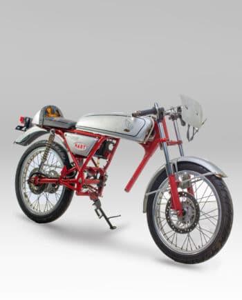 Honda Dream 50 Zilver - rolling frame