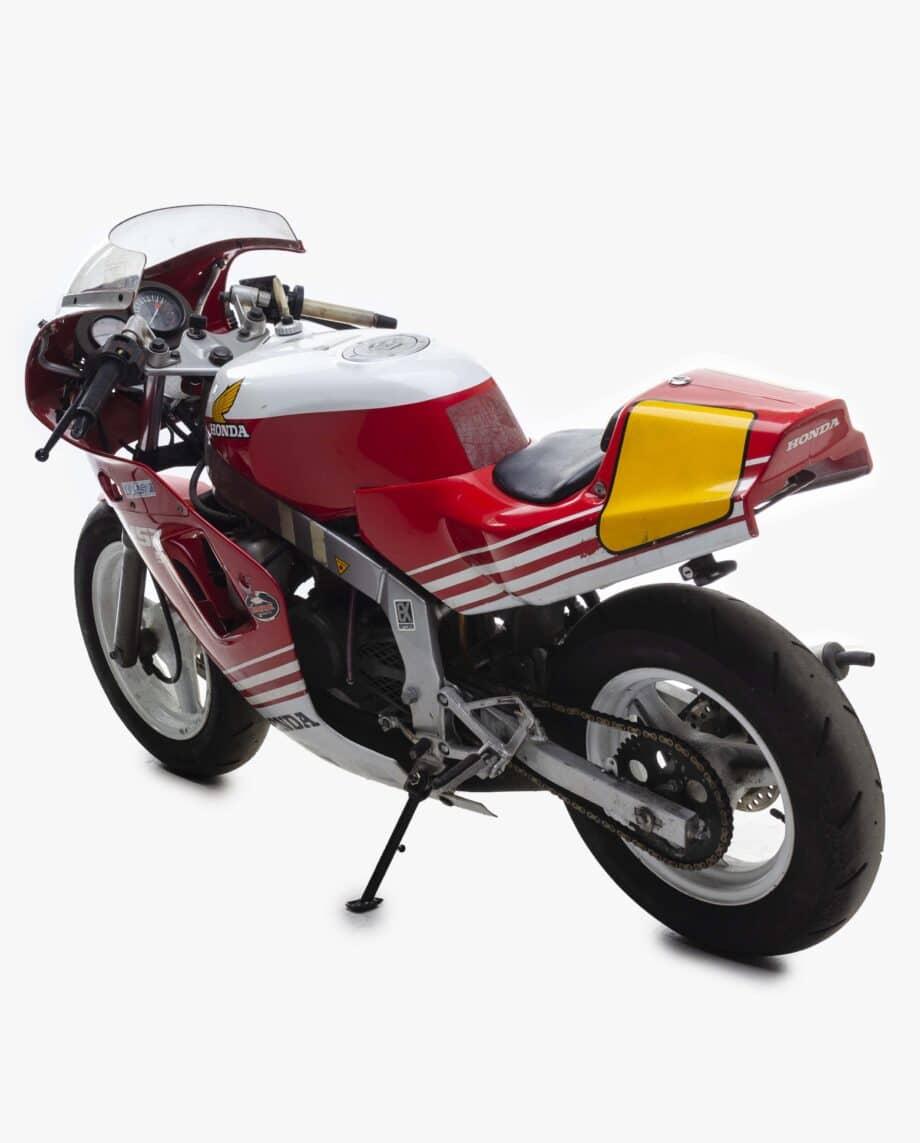 Honda NSR50. Read km stand 21915
