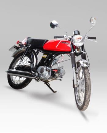 Honda ss50 rood 9299