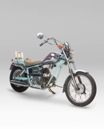Honda Jazz 50 Blauw-Chrome C15_009